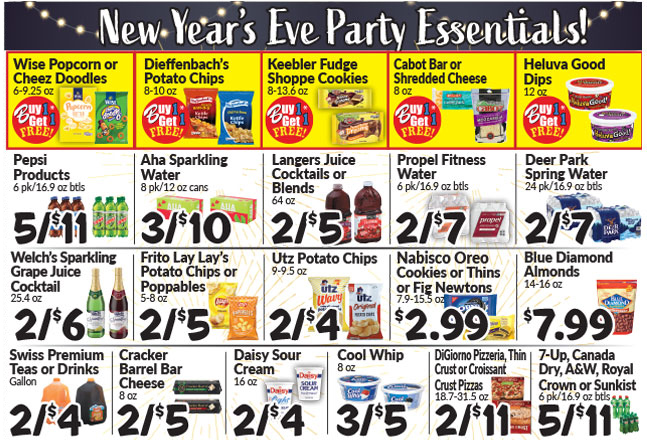 New Year's Eve Party Essentials!