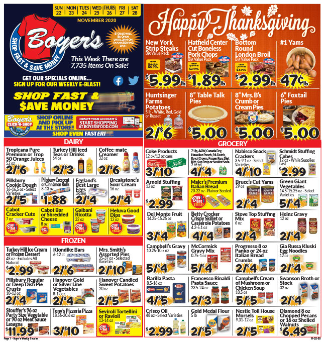 Click Here To View Our Weekly Ad