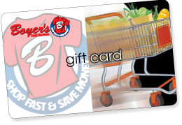 Boyers Gift Card