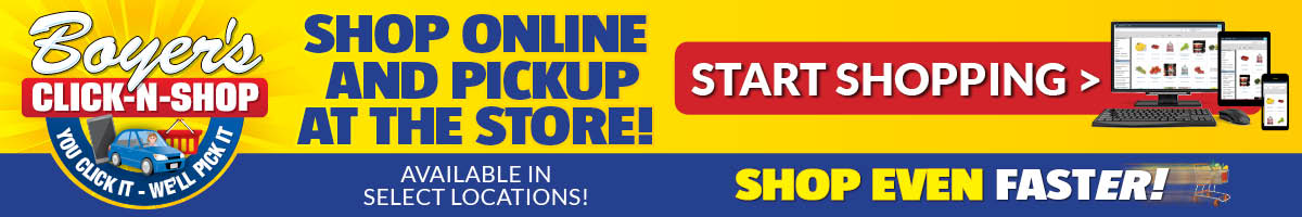 Click-N-Shop: Shop Online and Pickup at the Store!