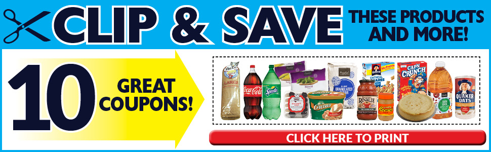 10 Great Coupons!