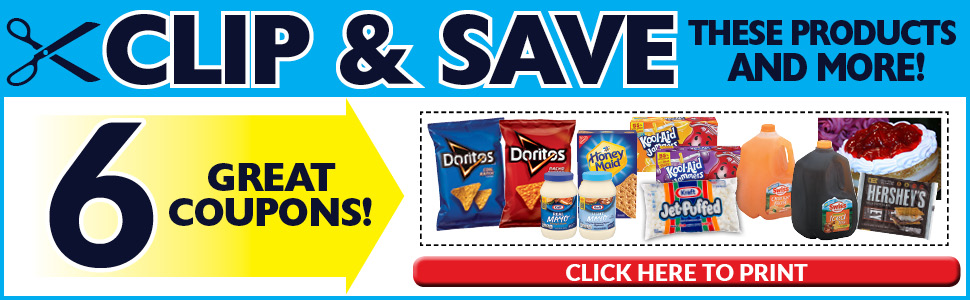 6 Great Coupons!
