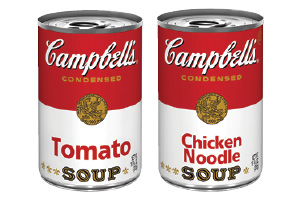 Campbell's Tomato or Chicken Noodle Soup