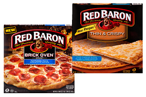 Red Baron Classic Brick Oven or Thin Crust Pizzas