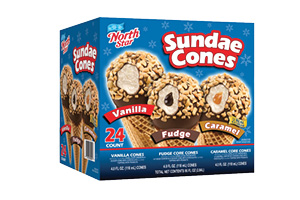 North Star Sundae Cones