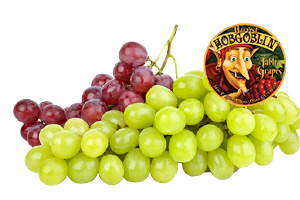 Hobgoblin Red or Green Seedless Grapes