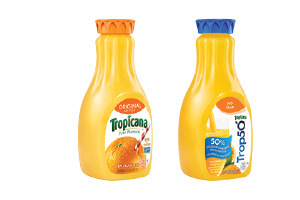Tropicana Pure Premium or Trop 50 Orange Juice
