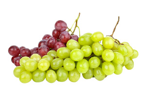 Red or Green Seedless Grapes
