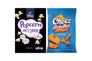 Wise Popcorn or Cheez Doodles