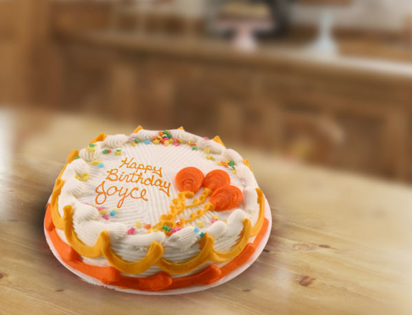 8 Inch Round Cake
