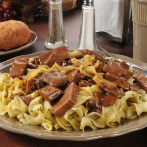 Beef Tips n Noodles